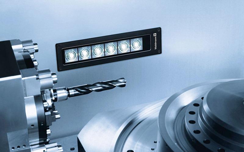 makinaya entegre aydınlatma